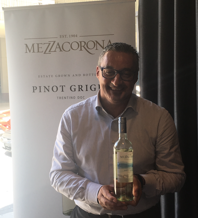 Phd Lucio Matricardi. Matricardi trained in winemaking and viticulture at the University of Bologna, earned his Ph.D. in viticulture and enology from the University of California at Davis. Looking forward to an afternoon of Pinot Grigio.