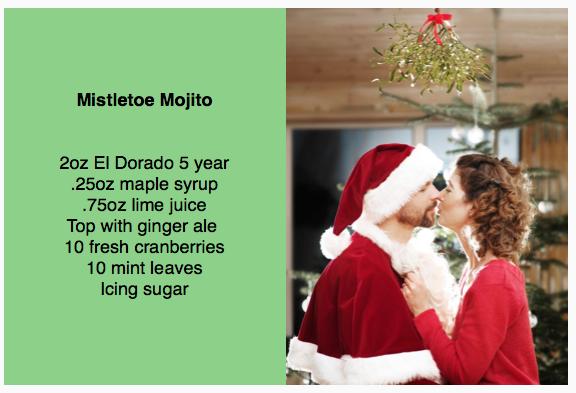El Dorado Mistletoe Mojito