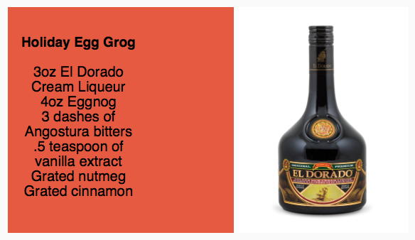 El Dorado Holiday Egg Grog