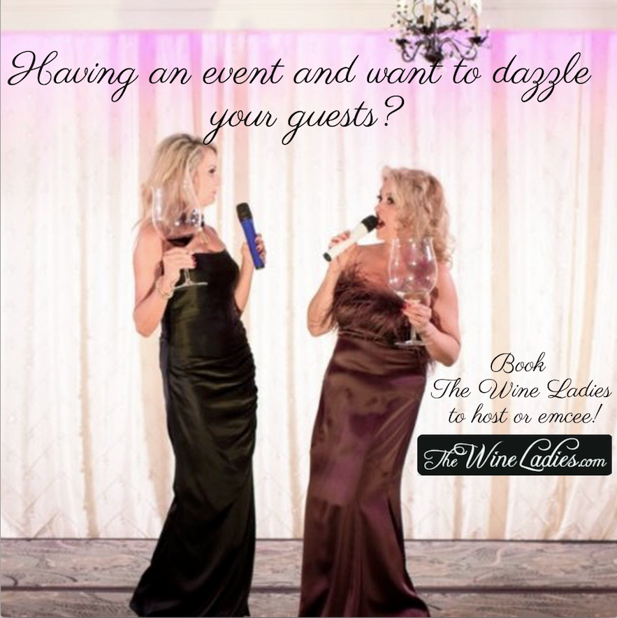 Book The Wine Ladies to host or emcee your next event.