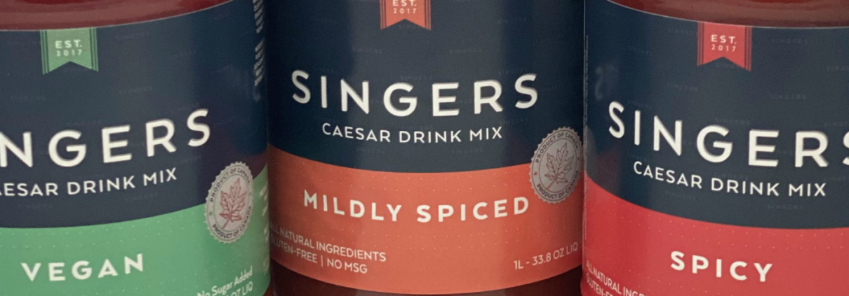 Singers Caesar Drink Mix