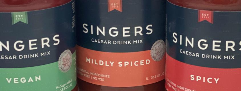 Singers Caesar Drink Mix