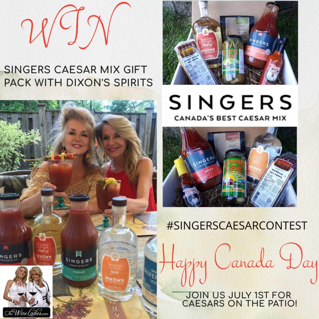 Singers Caesar Contest for Canada Day 2020