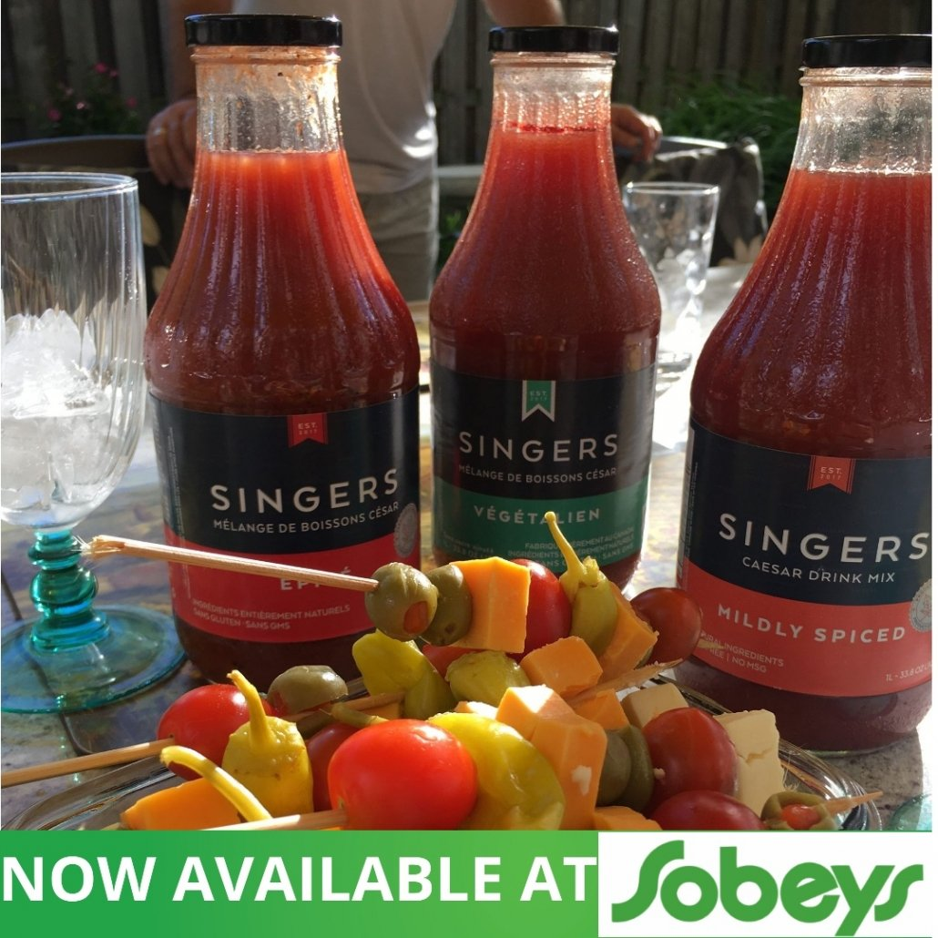 Singers Caesar Mix now available at Sobeys