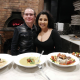 Greg and Candy, Co-owners and Managers Justino's Wood Oven Pizza