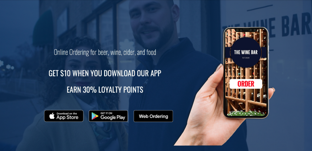 The Wine Bar, Download Our APP