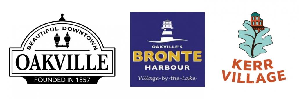 Oakville Restaurant Destination Areas.