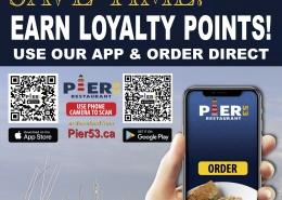 Pier 53 Restaurant Branded App Poster