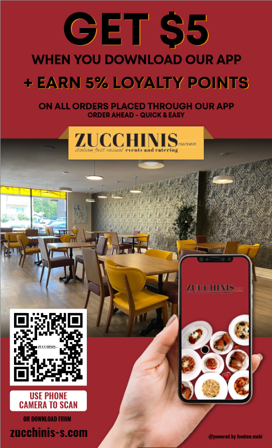 Zucchinis Cucina Web Ordering and Apps
