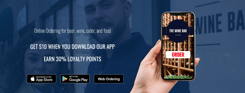 The Wine Bar FoodMe App